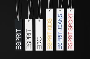 Esprit обновил визуальную айдентику и получил новый шрифт