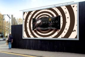 Для морозива Monaco створили гіпнотичні ролики