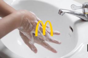 McDonald's запустил рекламу о мытье рук, которую нельзя пропустить