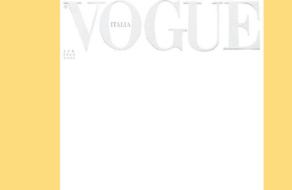 Vogue Италия впервые вышел с белой обложкой