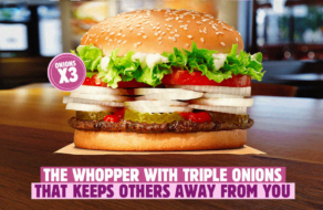 Burger King предложил бургер, который обеспечит социальную дистанцию