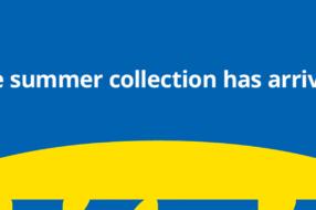 IKEA намекнула на летнюю коллекцию, умно использовав цвета бренда