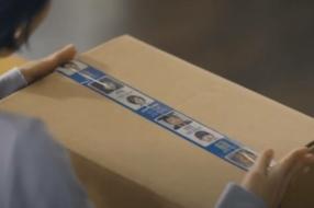 В Южной Корее выпустили упаковочную ленту с фото пропавших без вести детей
