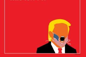 Трамп неправильно носит маску на обложке TIME