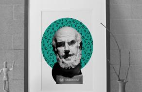 Для образовательной платформы Naukroom создали визуальный стиль