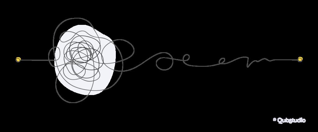 Шлях користувача всередині аплікації з непрофесійно побудованими потоками