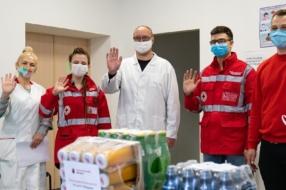 Червоний Хрест та Кока-Кола ініціювали кампанію з підтримки донорства крові