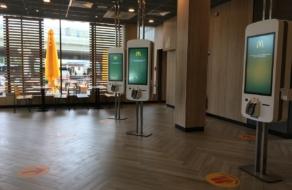 МакДональдз відкрив зали ресторанів і показав, як вони працюватимуть у нових умовах