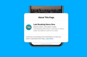 Facebook будет отмечать посты от подконтрольных государству изданий