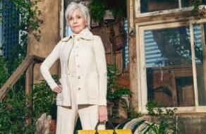Джейн Фонда прорекламировала первую эко-сознательную коллекцию Gucci