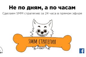 Украинское агентство сделает SMM стратегию для случайного клиента за 24 часа