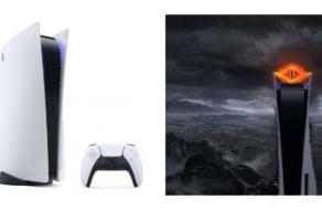 Неожиданный дизайн PlayStation 5 сравнили с башней Саурона