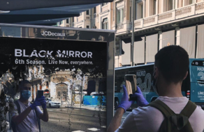 В Мадриде появилась реклама 6-го сезона «Черного зеркала» от Netflix