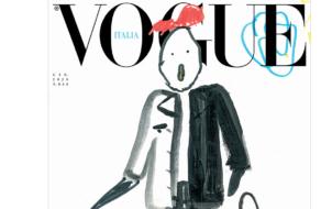 Дети нарисовали обложку для нового Vogue Italia