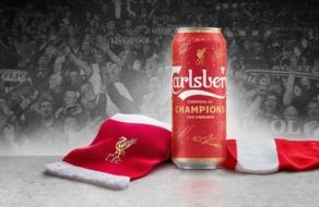 Carlsberg сменил цвет бренда в честь победы ФК «Ливерпуль»