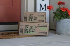 Amazon запустил коробки, которые можно трансформировать в домики для животных