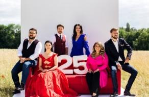 «1+1» запустив промо-кампанію на честь 25-річчя