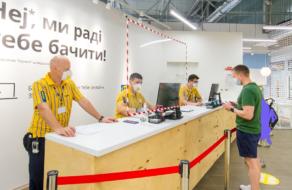 IKEA відкриє два додаткові пункти видачі замовлень у Києві
