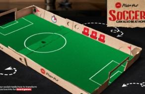 Pizza Hut превратила упаковку в настольные игры