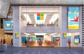 Microsoft закроет физические магазины