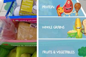 Nestle рассказала о сбалансированном питании с помощью продуктовой тележки