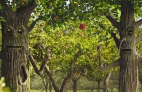 Деревья заговорили в ролике для «Де Сад»