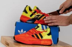 Adidas и Deliveroo создали съедобные кроссовки