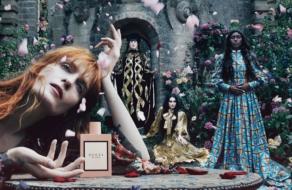 Gucci запустили кампанию в поддержку аромата Bloom