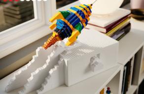 Ikea и Lego создали контейнеры для хранения конструктора