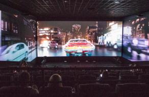 Multiplex открыл первый кинотеатр с 270-градусным панорамным экраном в Киеве