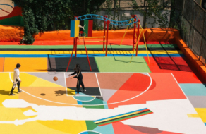 PUMA создал в Киеве площадку для игры в баскетбол в рамках новой кампании