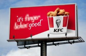 KFC отказался от слогана It's Finger Lickin' Good
