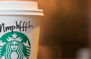 Starbucks креативно поблагодарил посетителей за ношение масок
