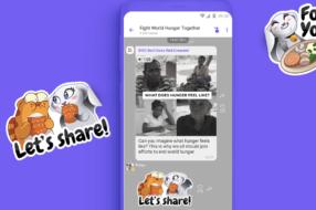 Rakuten Viber запускает кампанию по борьбе с голодом в мире