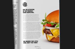 Burger King захотел получить звезду Мишлен за новый бургер