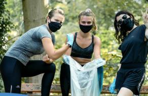 Decathlon призывает украинцев убирать свои спортивные локации