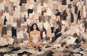 Ким Кардашьян отмечает годовщину Skims