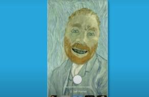 Новые фильтры Google превращают пользователя в картины Ван Гога или Фриды Кало