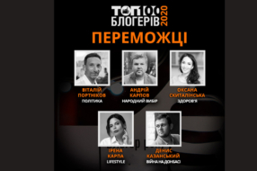 Факты ICTV назвали  победителей голосования ТОП-100 блогеров Украины 2020