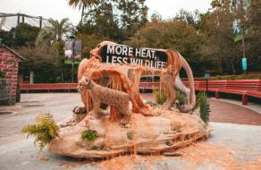 Out of home кампания растаяла, чтобы рассказать о последствиях глобального потепления
