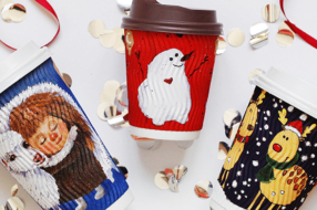 Детские рисунки снова украсят зимние стаканчики WOG