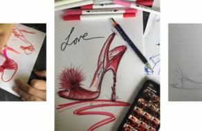 Jimmy Choo воплотит в жизнь рисунки фанатов