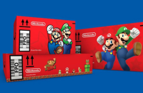 Герои Super Mario Bros появятся на коробках Amazon