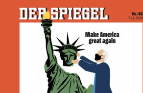Der Spiegel изменил противоречивую обложку с Трампом в честь победы Байдена
