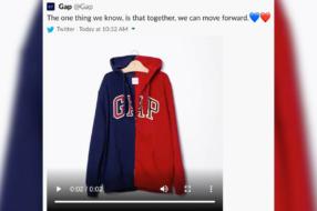 Gap удалил политический твит после критики