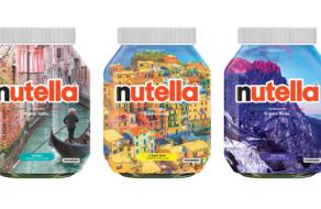 Nutella представила 30 дизайнов с достопримечательностями Италии