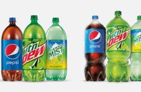 PepsiCo изменила дизайн 2-литровых бутылок впервые за 30 лет