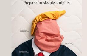 Продавец кроватей намекнул на бессонные ночи в рекламе с Трампом