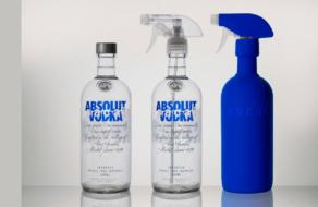 Absolut изменил классическую бутылку  ради призыва к рециклингу