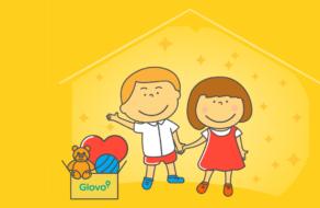 Glovo, Mastercard и СОС Детские Деревни Украина помогут детям из семей в трудных жизненных обстоятельствах